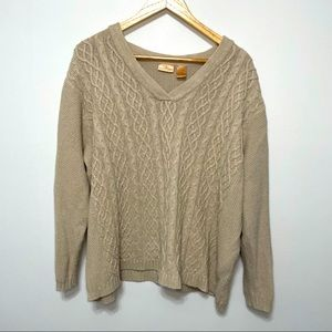 North Crest Thick Knit Sweater Plus Size